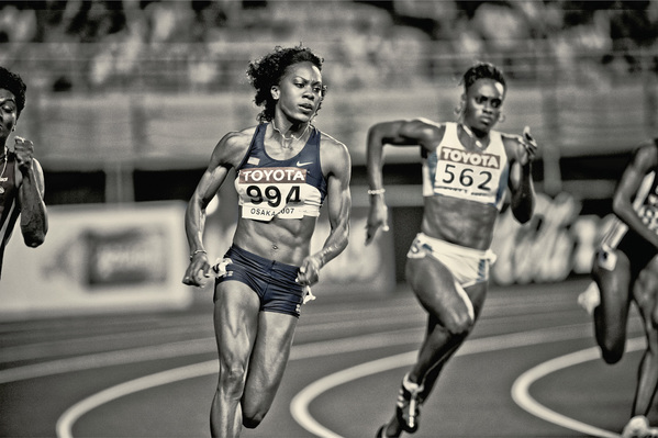 SANYA RICHARDS -OSAKA, JAPAN
